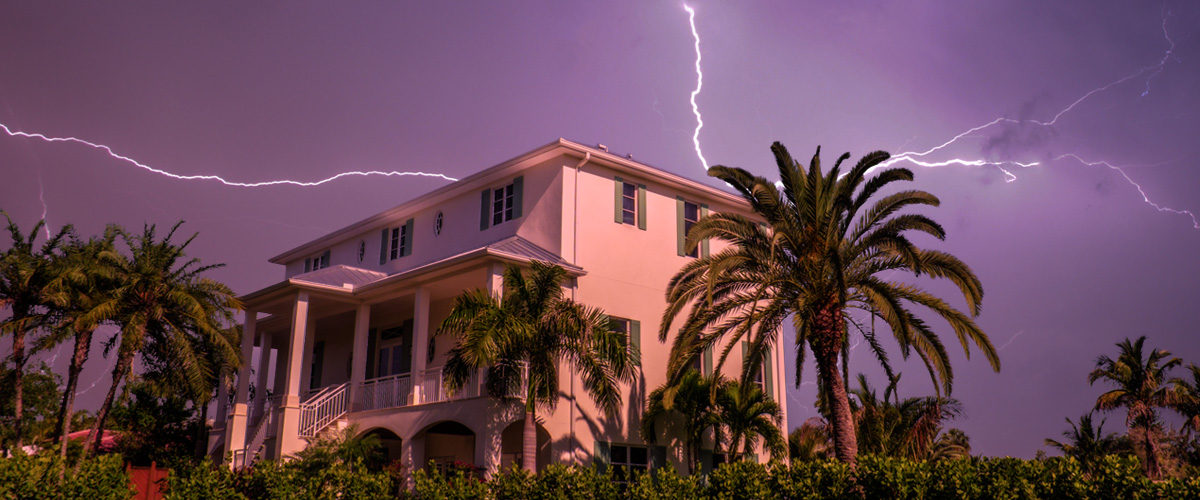 Learn how to protect your home from lightning and surge.