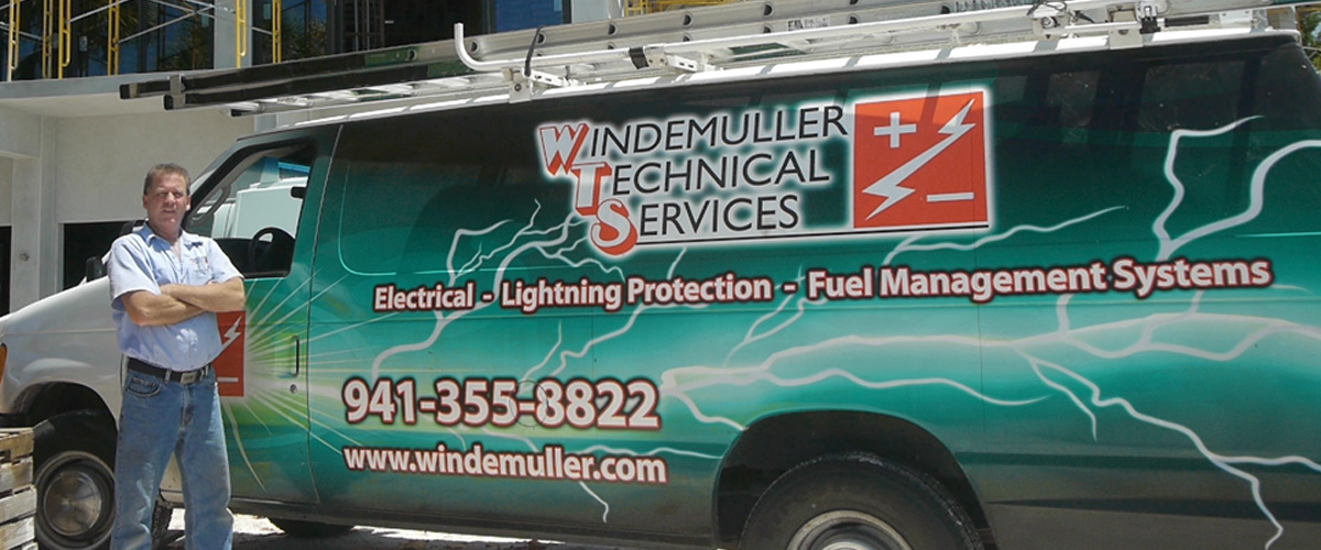 Florida Lightning Protection division of Windemuller serves customers in Sarasota and Manatee counties and the surrounding Florida area.